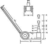 Домкрат подкатной пневмогидравлический, г/п 80 тонн NORDBERG N803, фото 2