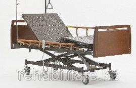 Четырехсекционная кровать с электроприводом, серия Домашний уход DB-6 WOOD (Дельта-6)