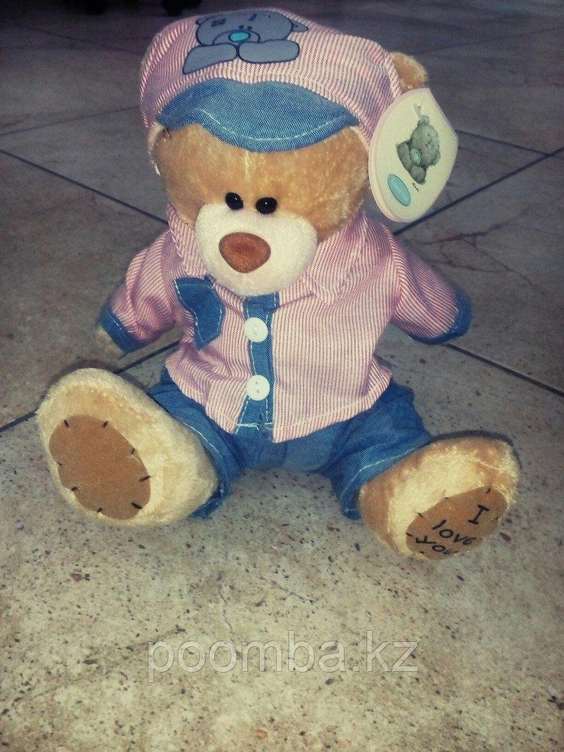 Мягкая игрушка Me to You мишка тедди в розовой рубашке19 см