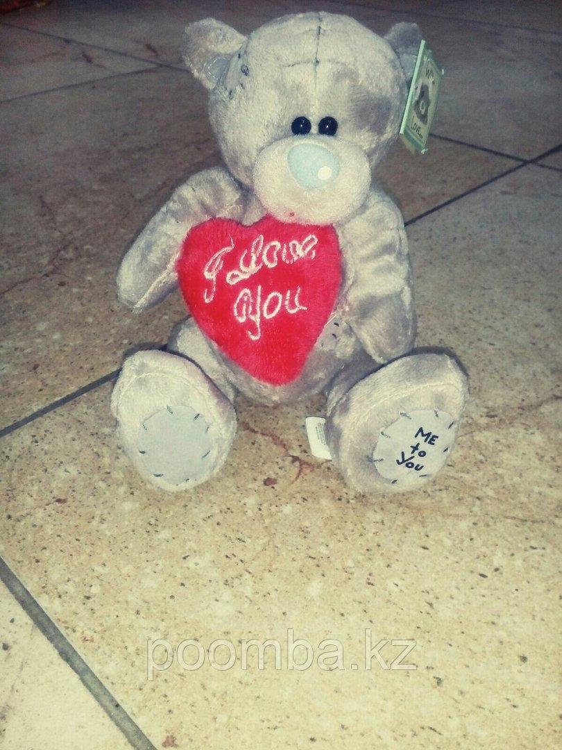Мягкая игрушка Me to You мишка тедди с сердцем  14 см