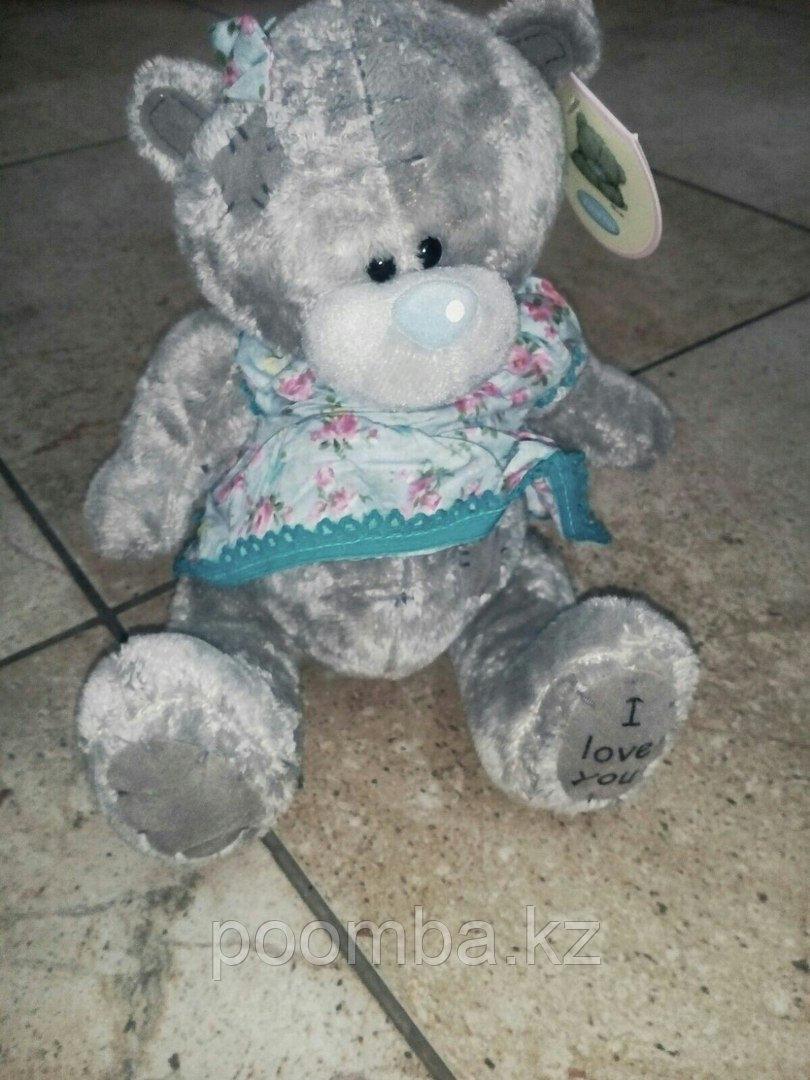 Мягкая игрушка Me to You  мишка тедди в голубом платье 19 см