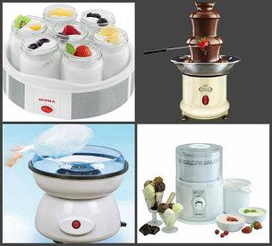 Йогуртницы, фондюшницы, аппарат сахарной ваты