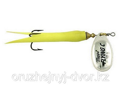 Блесна Aglia Flying Silver/Chartreuse (25гр)