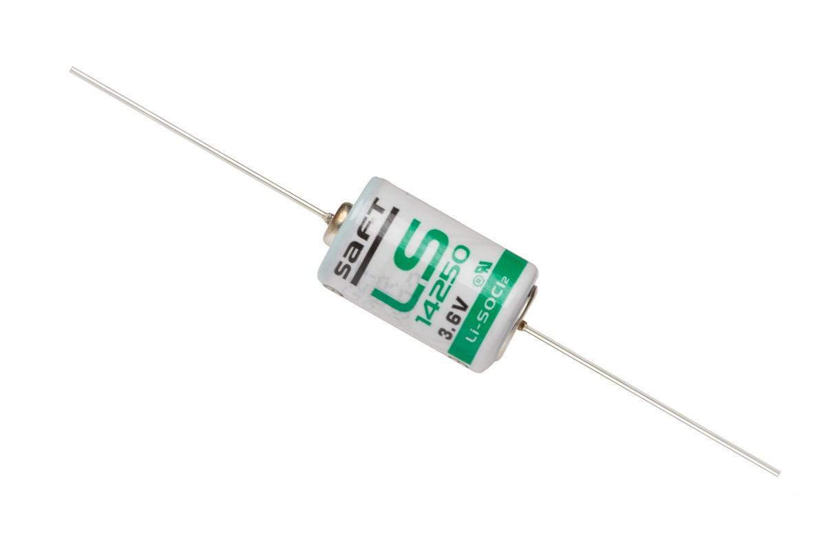 SAFT LS 14250 CNA с аксиальными выводами (SL-750,TL-2150)