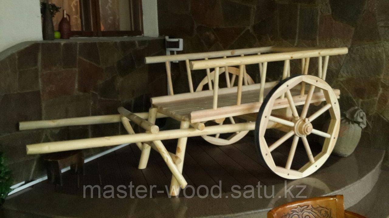 Изготовление садовой деревянной мебели: Беседки, навесы, топчаны, скамейки, лавочки, мостики, столики. - фото 1