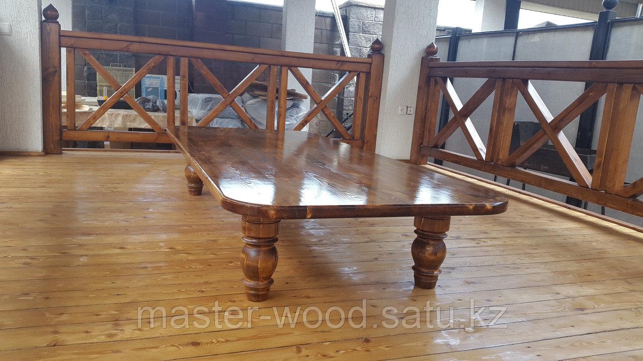 Изготовление садовой деревянной мебели: Беседки, навесы, топчаны, скамейки, лавочки, мостики, столики. - фото 5