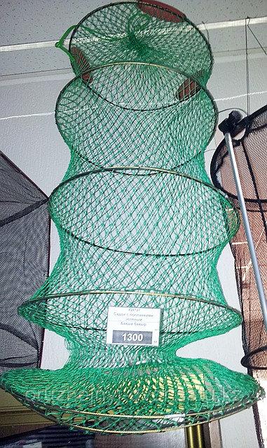 Садок с поплавками зеленый