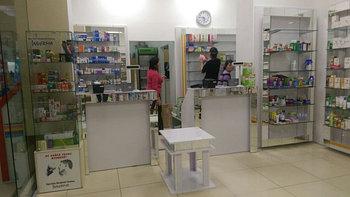 Кассовые витрины для аптек