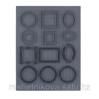 Штамп резиновый Рамки(06) Craft Clay
