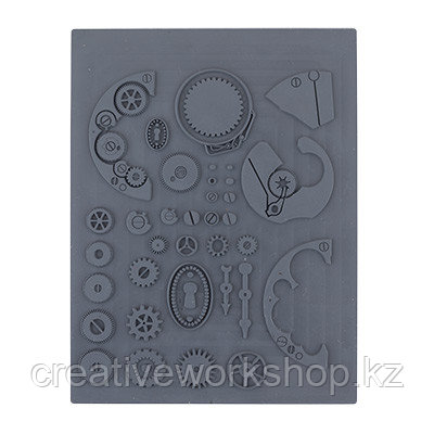 Штамп резиновый Шестеренки(05) Craft Clay