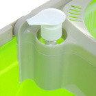 Набор для уборки: ведро на колесах с центрифугой, швабра, фото 2