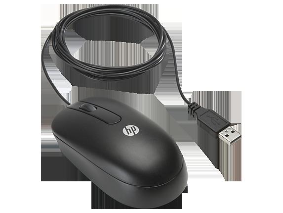 HP QY777A6 Оптическая USB-мышь с колесиком