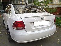 Спойлер на крышку багажника Volkswagen Polo Sedan 2008+, фото 1