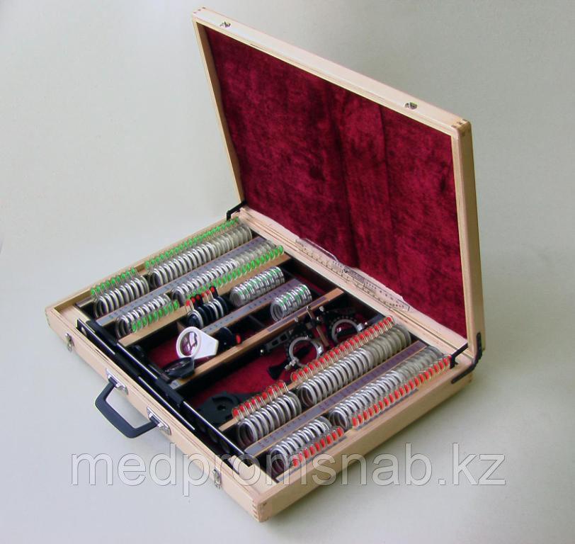 Набор пробных очковых линз и изделий офтальмологических средний НПОЛб-254-«Орион М»