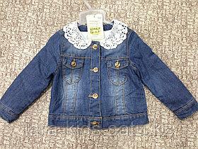 Пиджак джинсовый для девочек