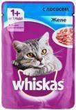 Whiskas желе с лососем Вискас пауч для кошек, 85г., фото 1