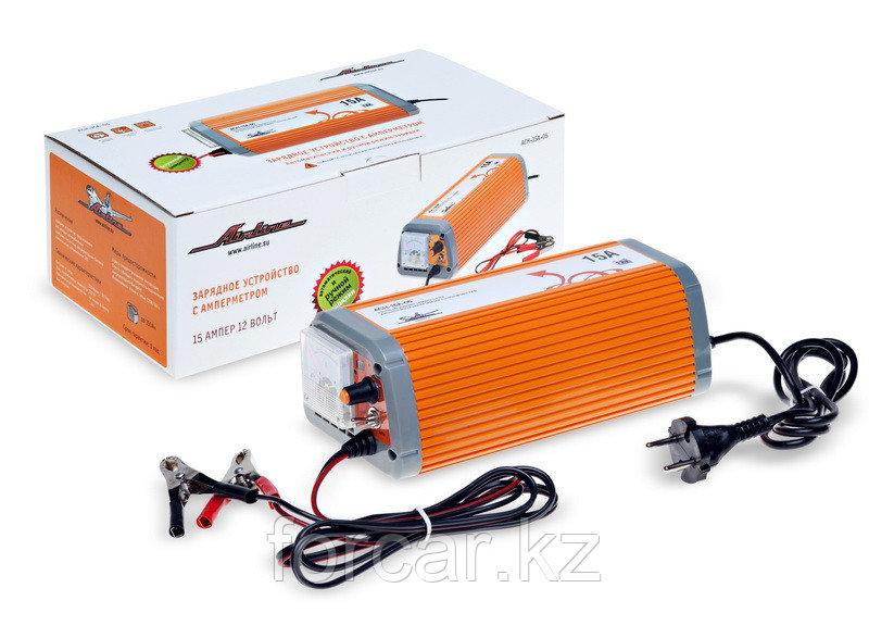 Зарядное устройство 15А 12В, амперметр, ручной и автоматический режим