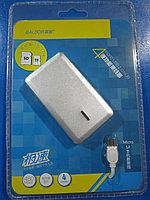 """USB HUB """"Galdor"""" 4 портовый, совместимый с картридером (SD, micro SD)"""