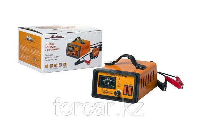 Зарядное устройство 5А 6В/12В, амперметр, ручная регулировка зарядного тока, фото 2