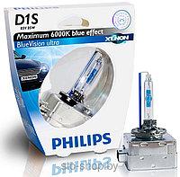 D1S PHILIPS 6000k- Xenon BlueVision ultra 85V(35W) Лампа ксенон газоразрядная