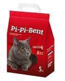 Pi Pi Bent,  Пи Пи Бент, наполнитель комкующийся. Классик, 5 кг, фото 1