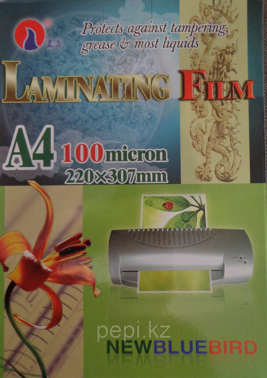 Пленка для ламинирования А4, 100 мик