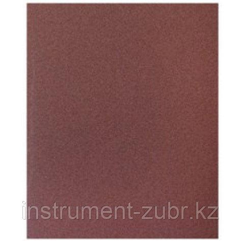 """Лист шлифовальный универсальный STAYER """"MASTER"""" на бумажной основе, 230х280мм, Р80, упаковка по 5шт, фото 2"""
