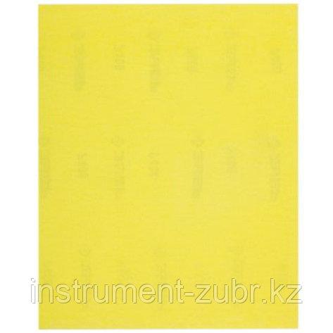 """Лист шлифовальный ЗУБР """"МАСТЕР"""" универсальный на бумажной основе, Р100, 230х280мм, 5шт                                                                , фото 2"""