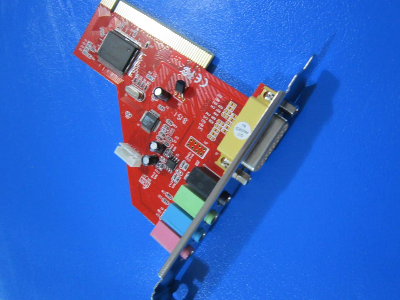 Звуковая карьа 4.1 PCi Card