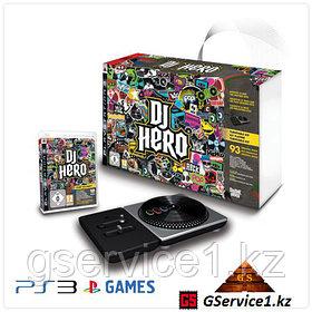DJ Hero Turntable Bundle + игра DJ Hero (PS3)