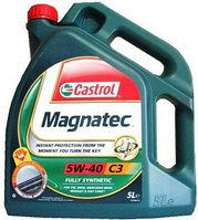 Моторное масло CASTROL Magnatec 5W40 SN/CF 4L