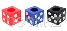 """Подставка для пишущих принадлежностей """"Игральный кубик"""""""