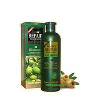 Шампунь для поврежденных и сухих волос из плодов оливок, 500 мл., фото 1