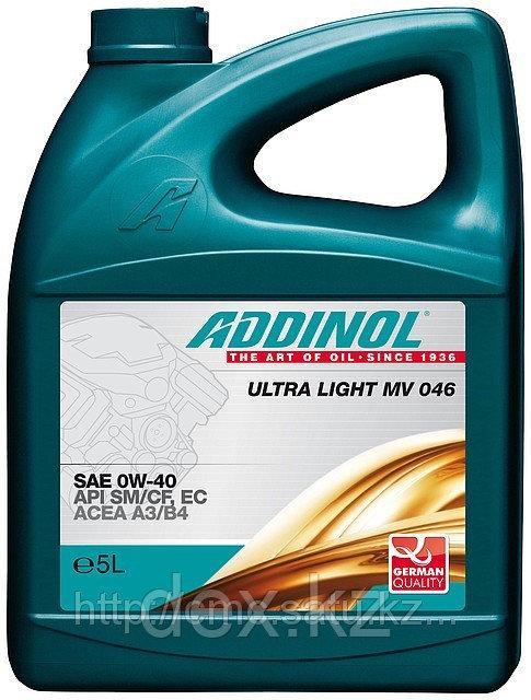 Моторное масло ADDINOL ULTRA LIGHT MV 046