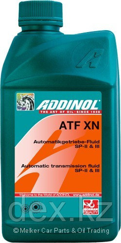 Трансмиссионное масло ADDINOL ATF XN