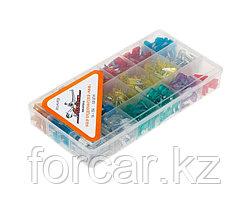Набор автомобильных предохранителей Мини в пластиковой коробке 510 штук