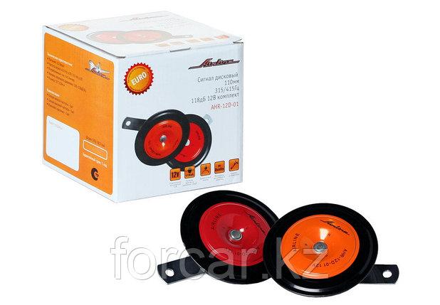 Сигнал дисковый 110мм 315/415Гц 118дБ 12В комплект, фото 2