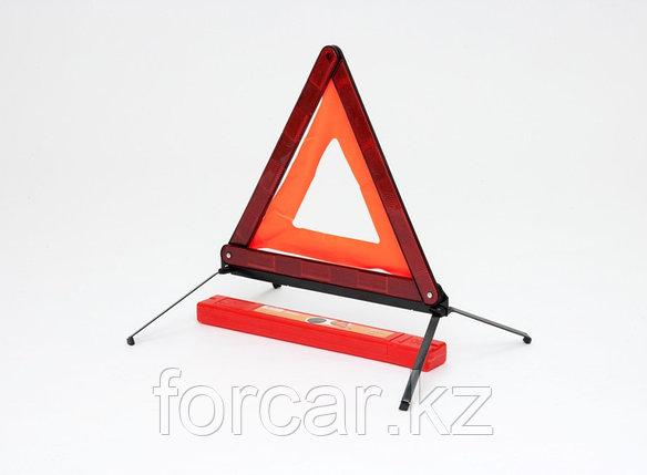 Знак аварийной остановки с металлическим основанием, фото 2