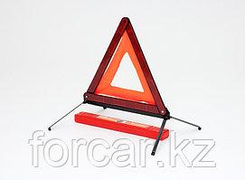 Знак аварийной остановки с металлическим основанием