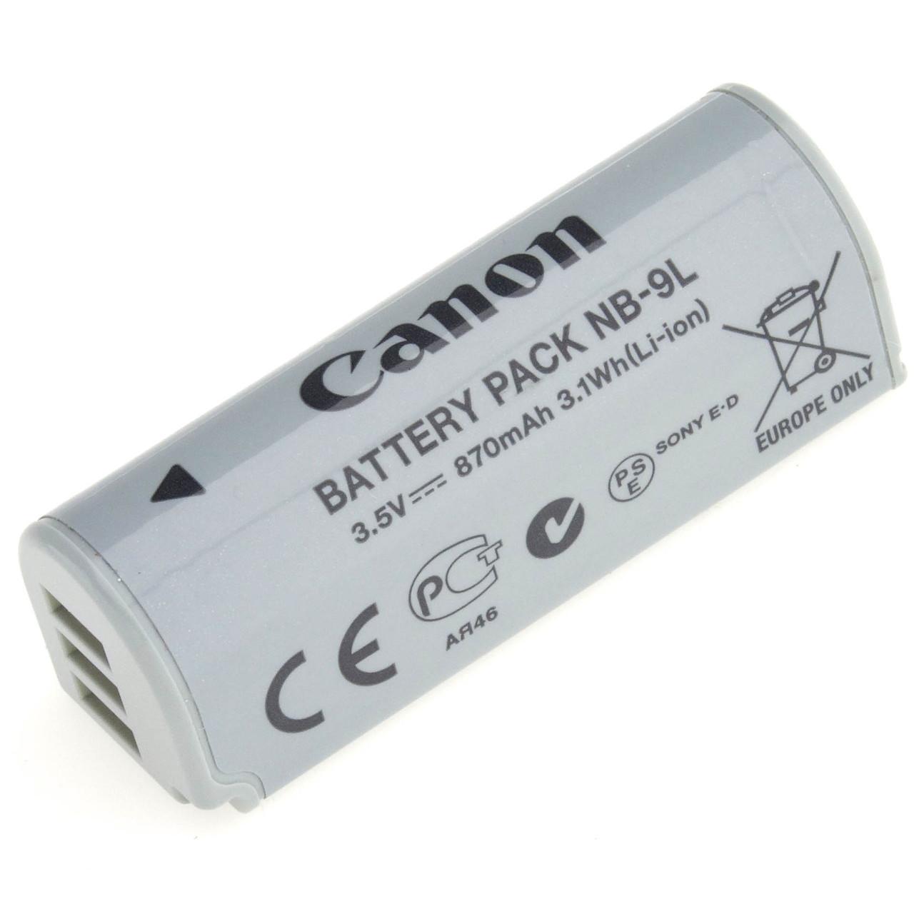 Аккумулятор CANON NB-9L