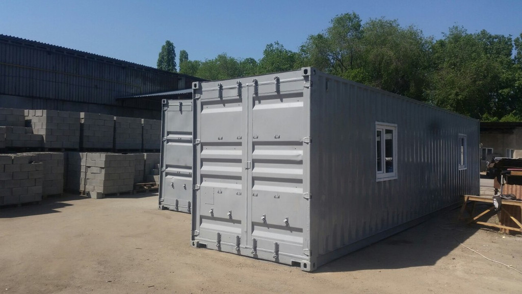 Вахтовый поселок для бригадиров 10 контейнеров, Костанай