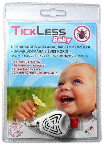 """Детский отпугиватель клещей """"TickLess Baby"""" в прозрачной упаковке"""