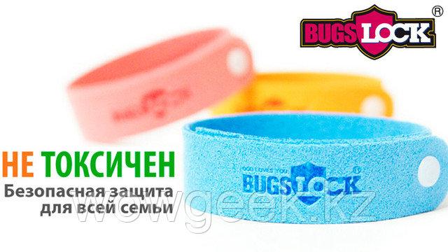 """Антикомариный браслет - """"Bugslock"""" (240часов)"""