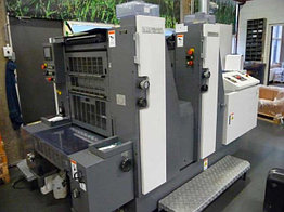 Shinohara 52II б/у 2007г - 2-красочная печатная машина