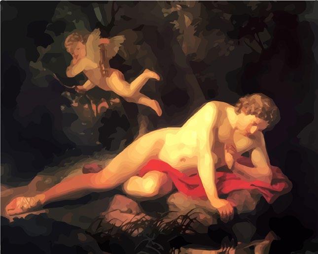 """Картина по номерам """"Нарцисс"""" под заказ 3 дня"""