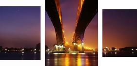 """Картина по номерам """"Мосты""""     под заказ 3 дня"""