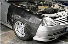 Защитная накидка на крыло автомобиля с магнитным креплением
