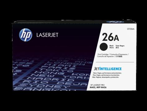HP CF226A Картридж лазерный HP 26A Black LaserJet Toner Cartridge for LaserJet M426/M402, up to 3100 pages