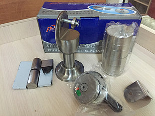 Фурнитура металическая для сантехнических перегородок