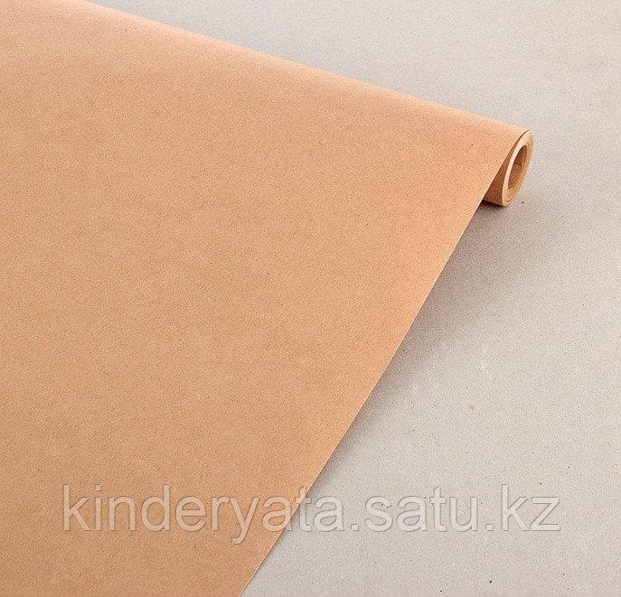 Бумага упаковочная крафт 0,7 х 10 м